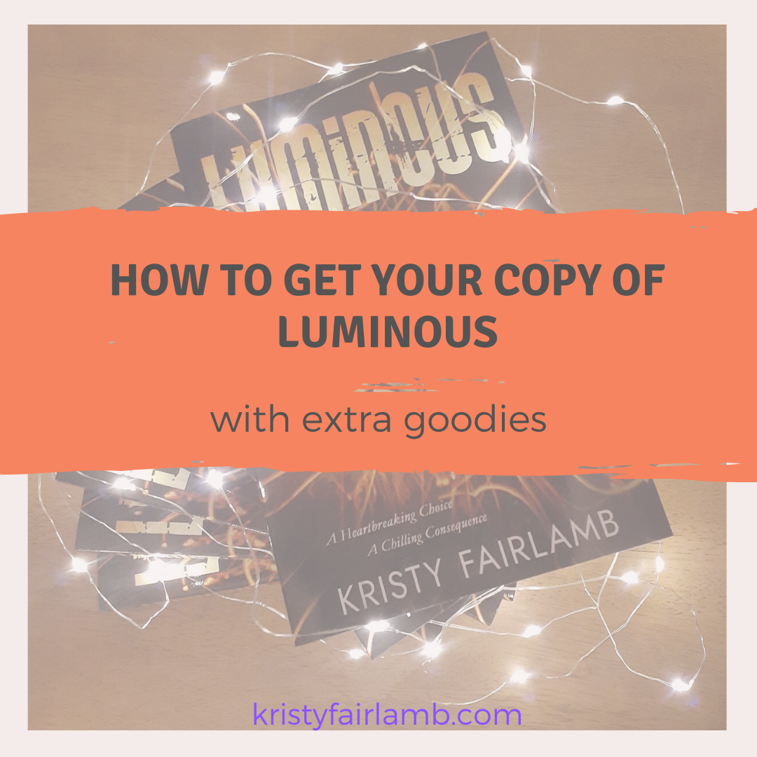 How to get your copy of LUMINOUS
